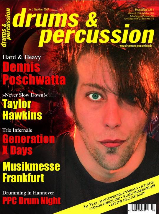 drums&percussion Mai/Juni 2003