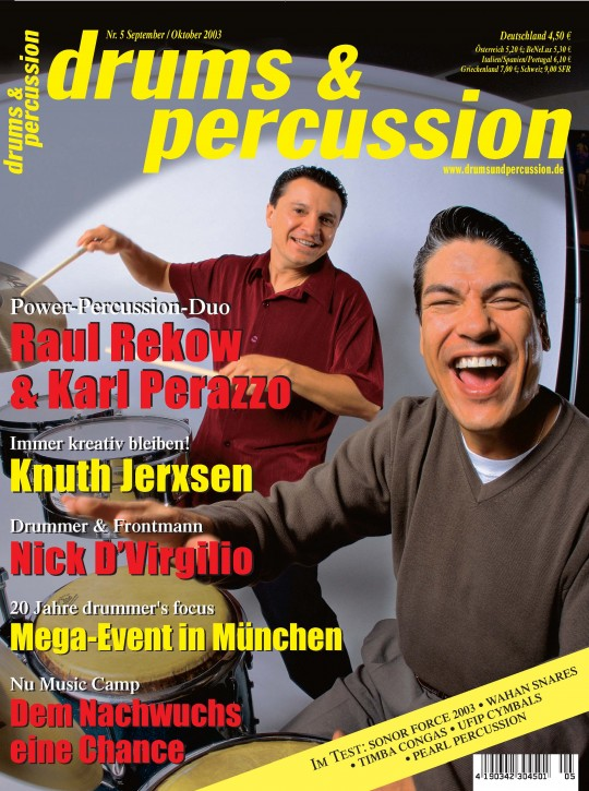 drums&percussion September/Oktober 2003