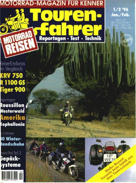 TOURENFAHRER Januar/Februar 1996