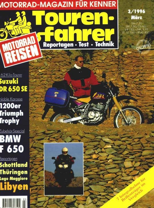 TOURENFAHRER März 1996