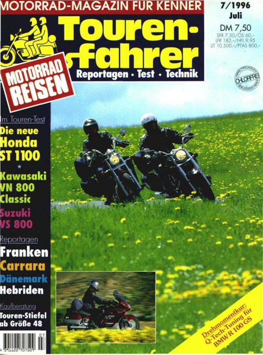 TOURENFAHRER Juli 1996