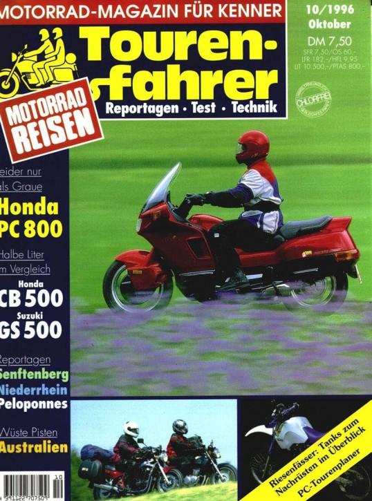 TOURENFAHRER Oktober 1996
