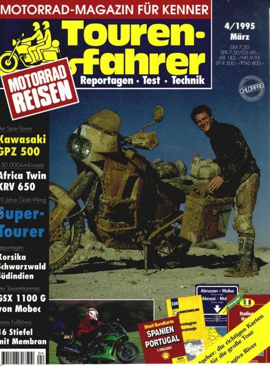 TOURENFAHRER April 1995