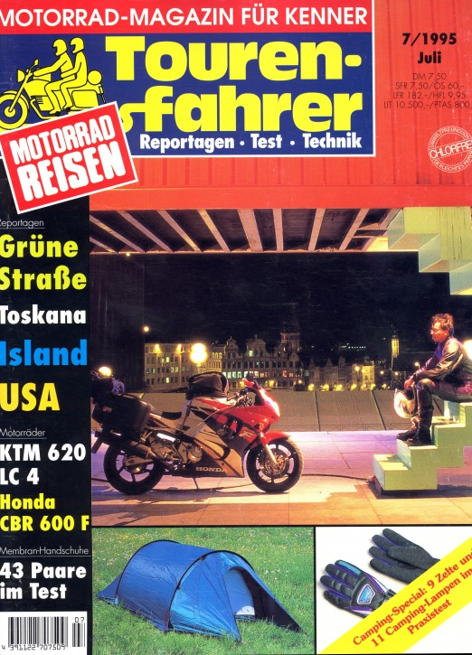 TOURENFAHRER Juli 1995