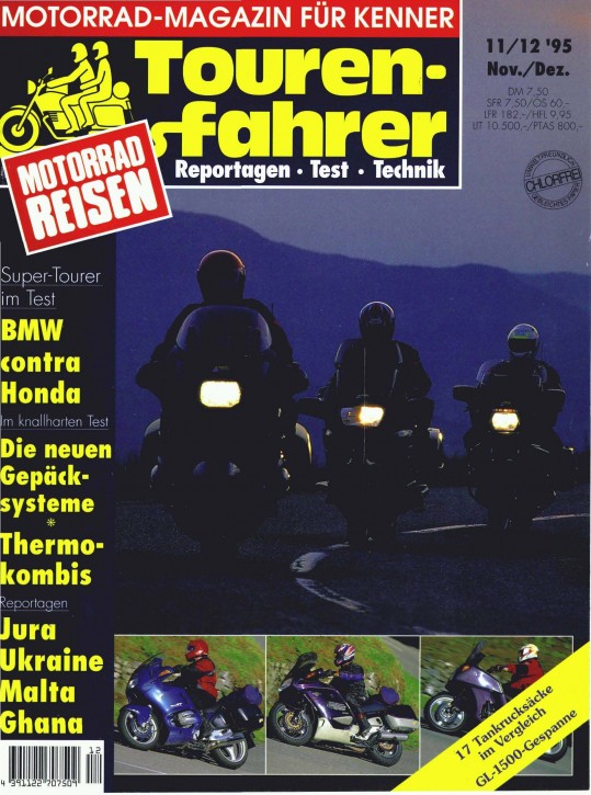 TOURENFAHRER November/Dezember 1995