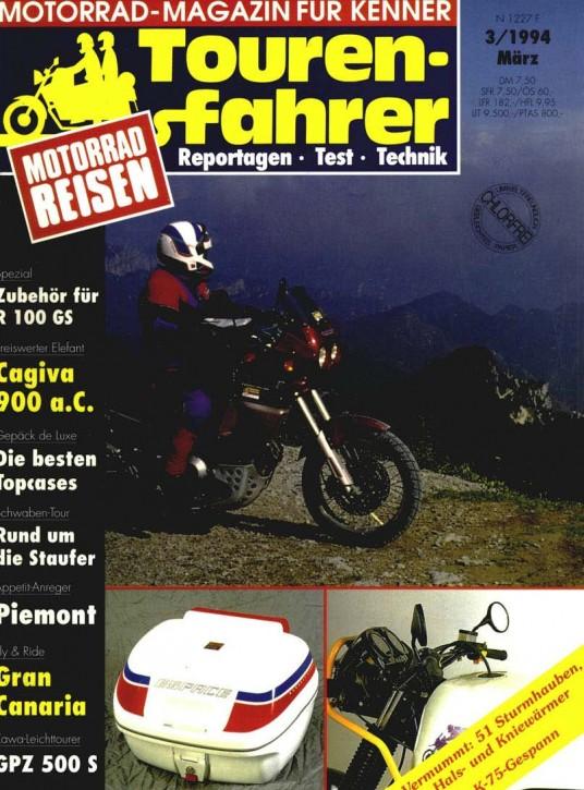 TOURENFAHRER März 1994