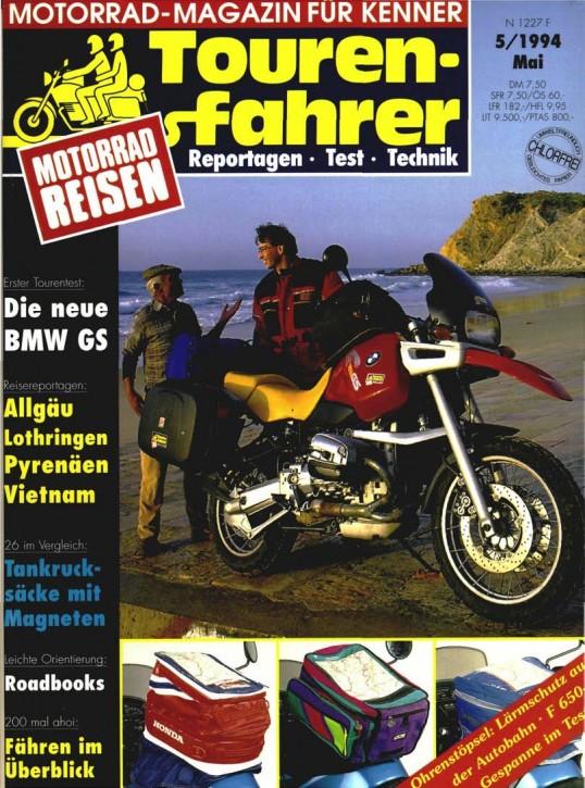 TOURENFAHRER Mai 1994