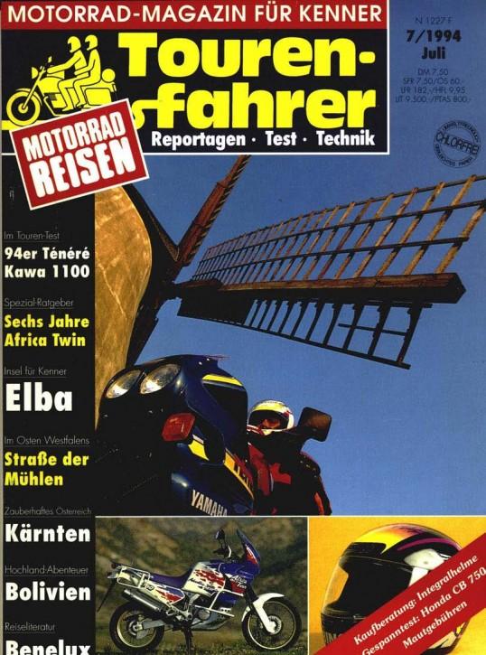 TOURENFAHRER Juli 1994