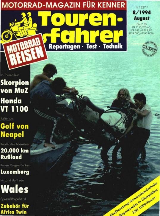 TOURENFAHRER August 1994