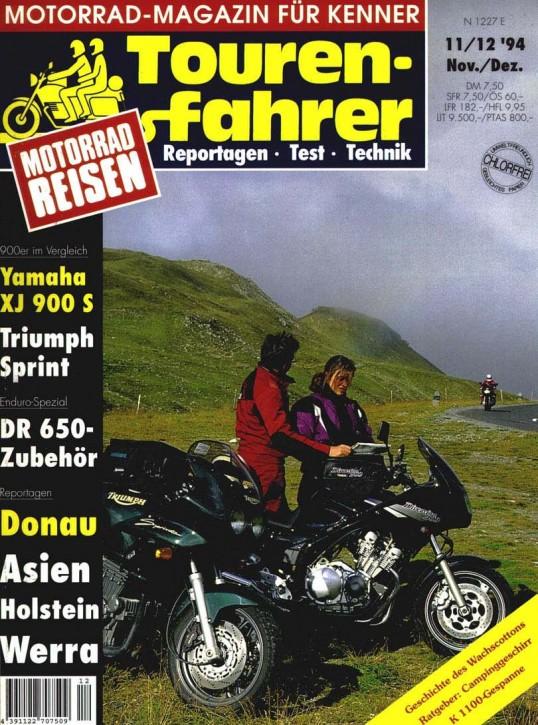 TOURENFAHRER November/Dezember 1994