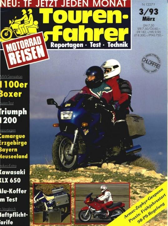 TOURENFAHRER März 1993