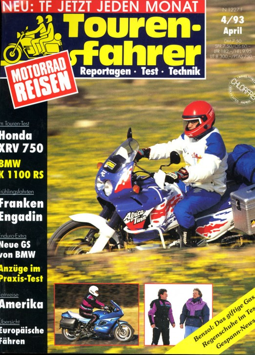 TOURENFAHRER April 1993