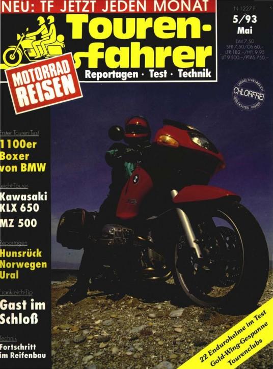 TOURENFAHRER Mai 1993