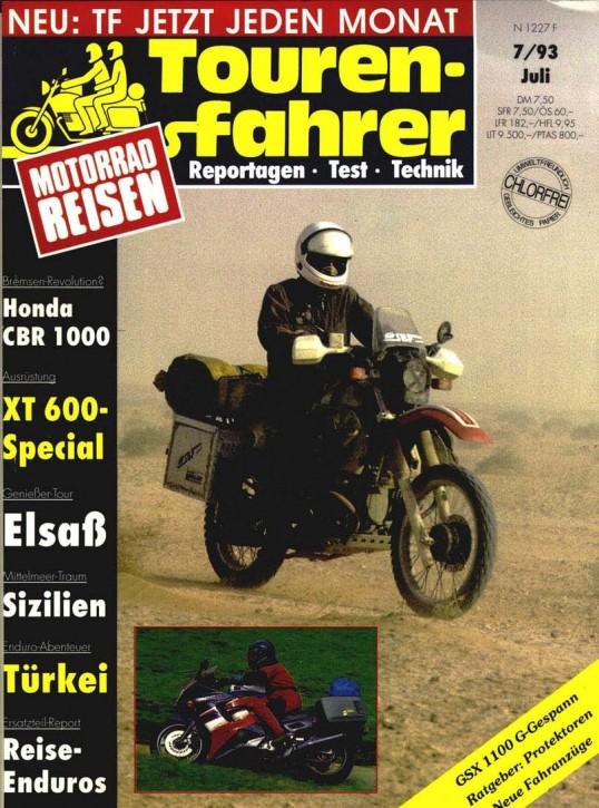 TOURENFAHRER Juli 1993