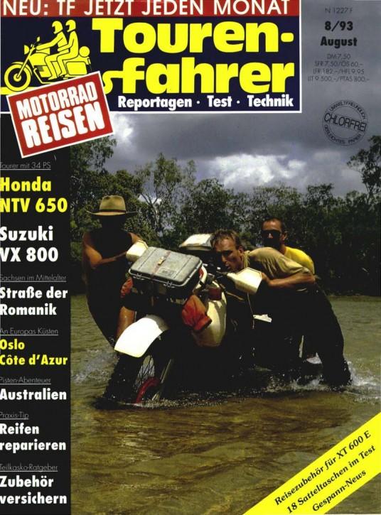 TOURENFAHRER August 1993