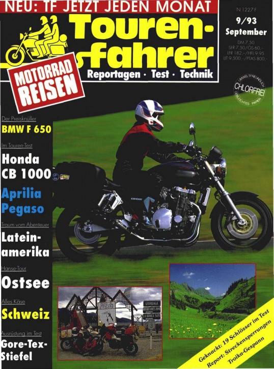 TOURENFAHRER September 1993