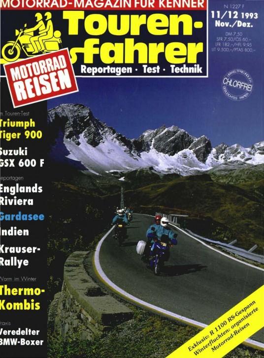TOURENFAHRER November/Dezember 1993