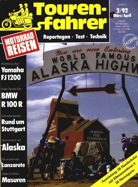 TOURENFAHRER März/April 1992