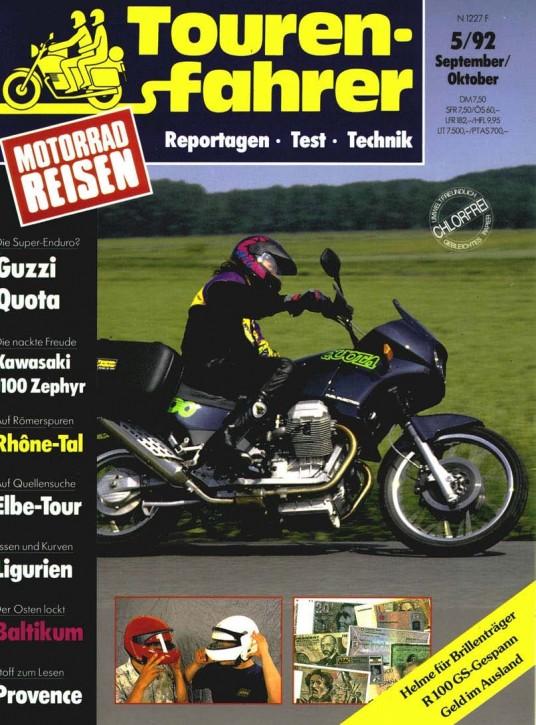 TOURENFAHRER September/Oktober 1992