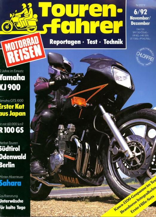TOURENFAHRER November/Dezember 1992