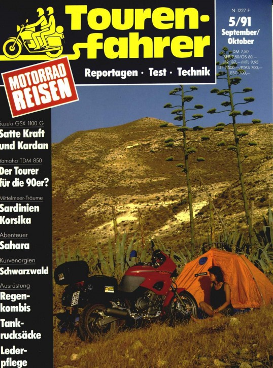TOURENFAHRER September/Oktober 1991
