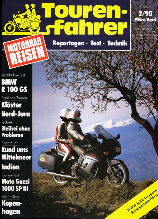 TOURENFAHRER März/April 1990