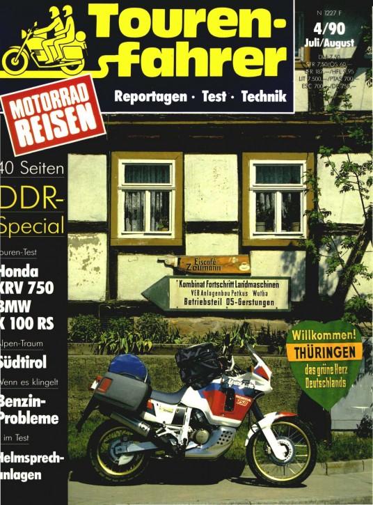 TOURENFAHRER Juli/August 1990