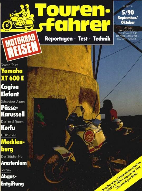 TOURENFAHRER September/Oktober 19910