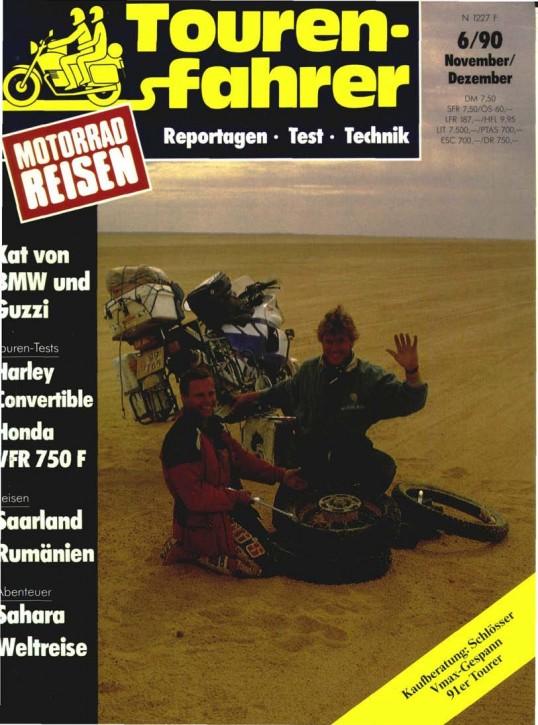 TOURENFAHRER November/Dezember 1990