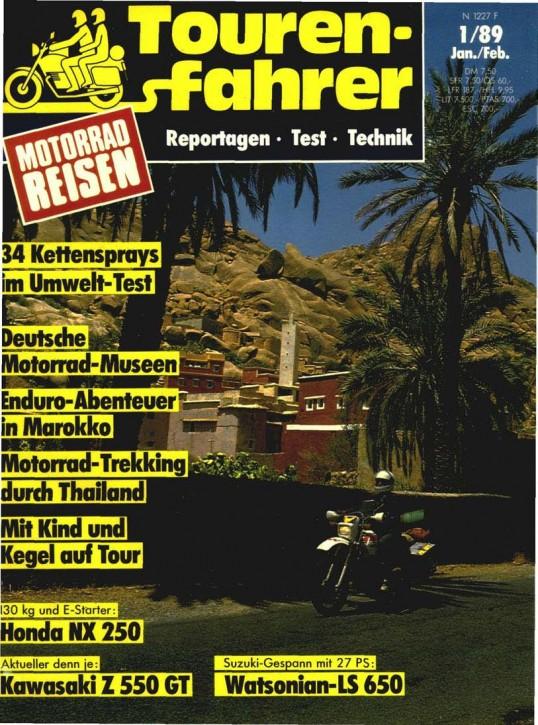 TOURENFAHRER Januar/Februar 1989