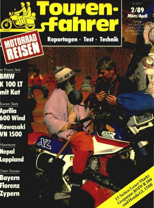 TOURENFAHRER März/April 1989