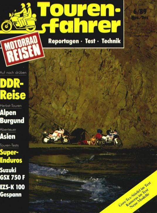 TOURENFAHRER November/Dezember 1989