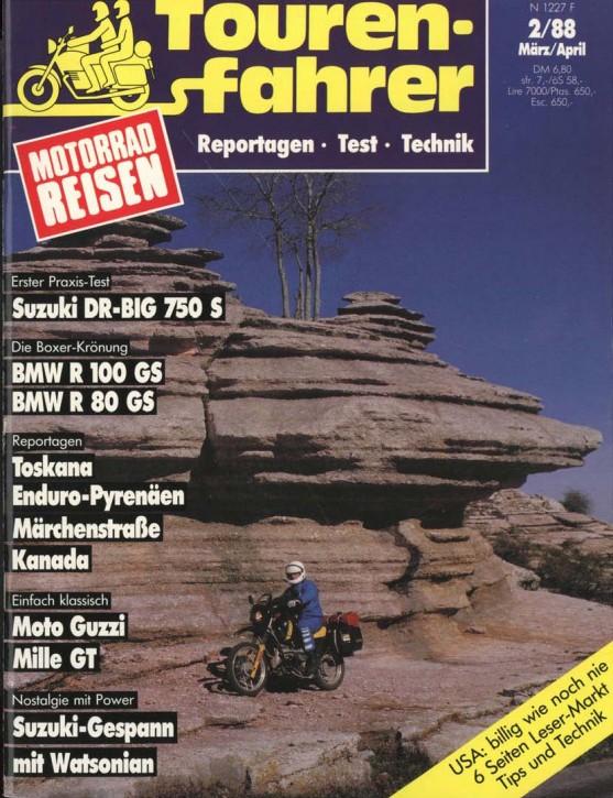 TOURENFAHRER März/April 1988