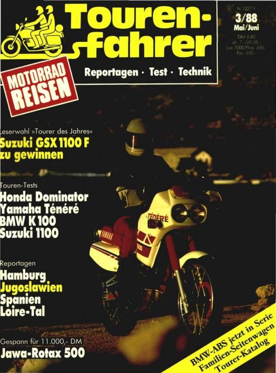 TOURENFAHRER Mai/Juni 1988