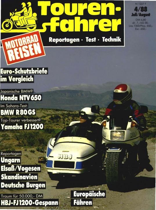 TOURENFAHRER Juli/August 1988