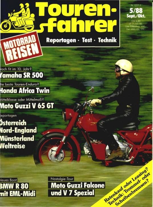 TOURENFAHRER September/Oktober 1988