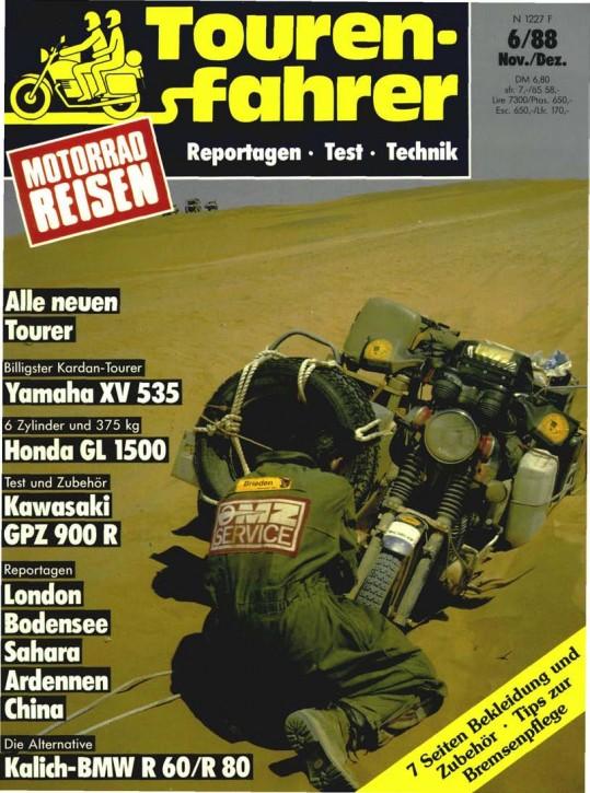 TOURENFAHRER November/Dezember 1988
