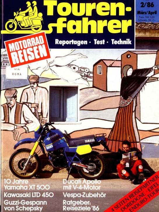 TOURENFAHRER März/April 1986