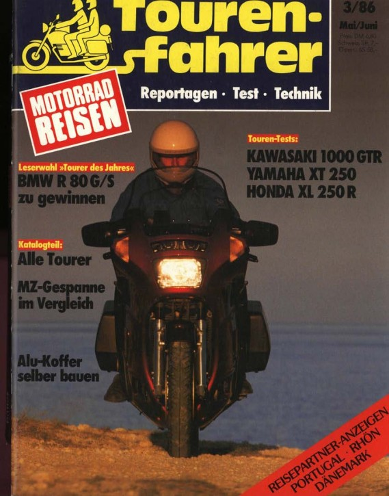 TOURENFAHRER Mai/Juni 1986