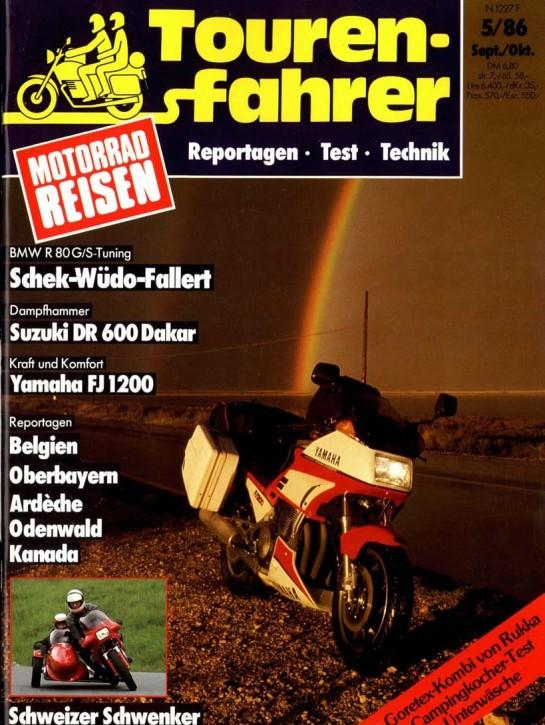TOURENFAHRER September/Oktober 1986