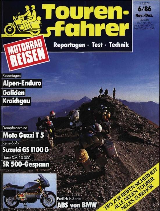 TOURENFAHRER November/Dezember 1986