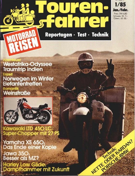 TOURENFAHRER Januar/Februar 1985