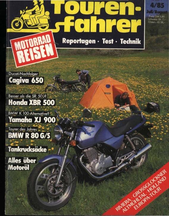 TOURENFAHRER Juli/August 1985