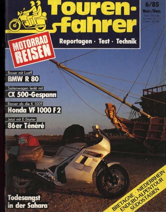 TOURENFAHRER November/Dezember 1985