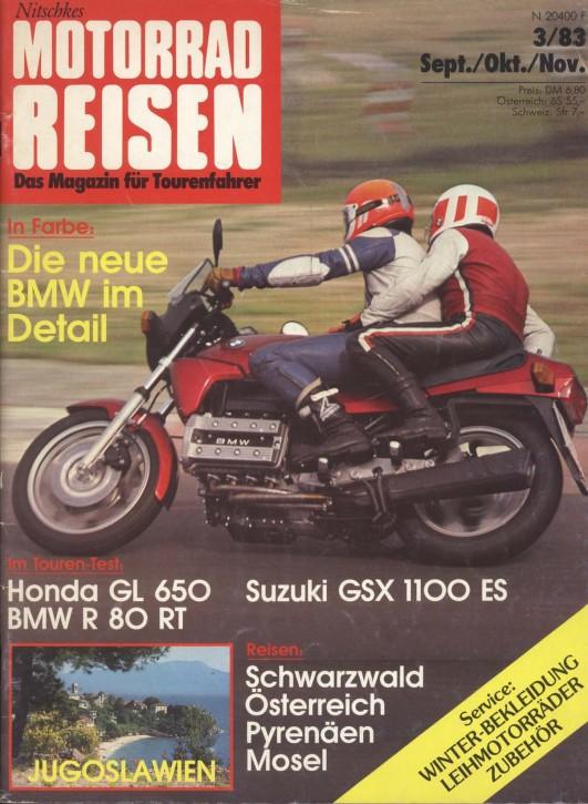 TOURENFAHRER September/Oktober/November 1983