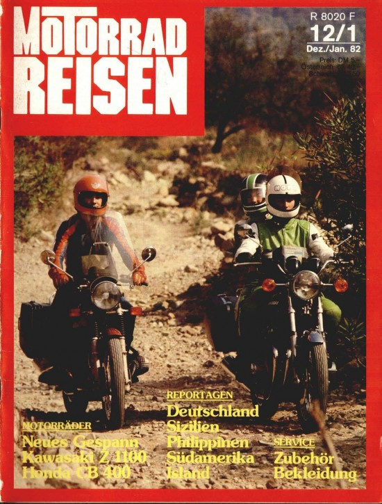 TOURENFAHRER Dezember/Januar 1982