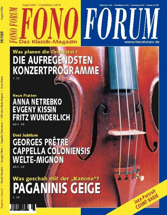 FonoForum August 2004