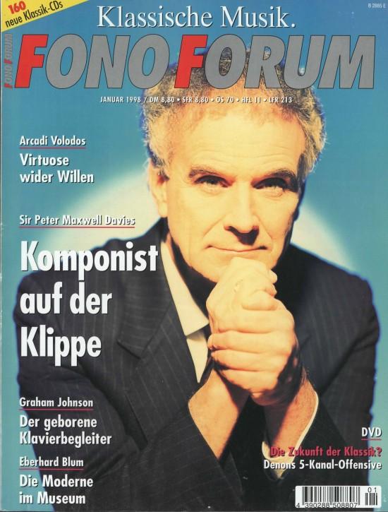 FonoForum Januar 1998