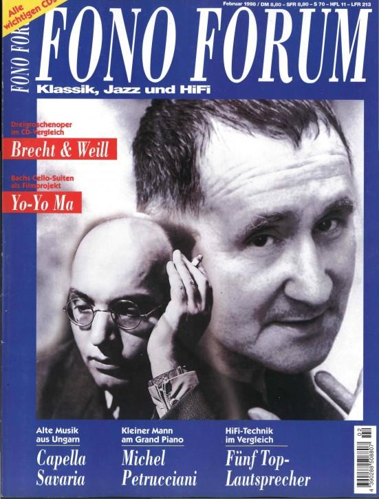 FonoForum Februar 1998