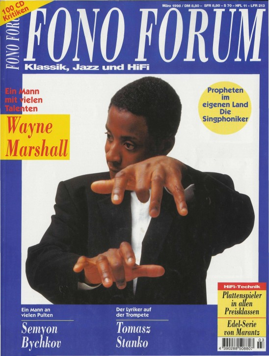 FonoForum März 1998